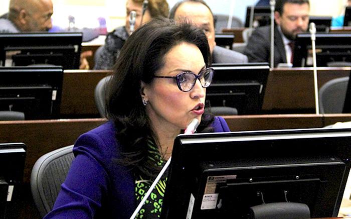 Senadora del partido Liberal, Viviane Morales