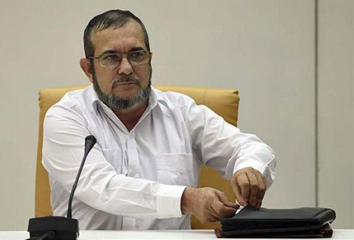 """Candidato a la presidencia por el partido FARC, Rodrigo Londoño """"Timochenko""""."""