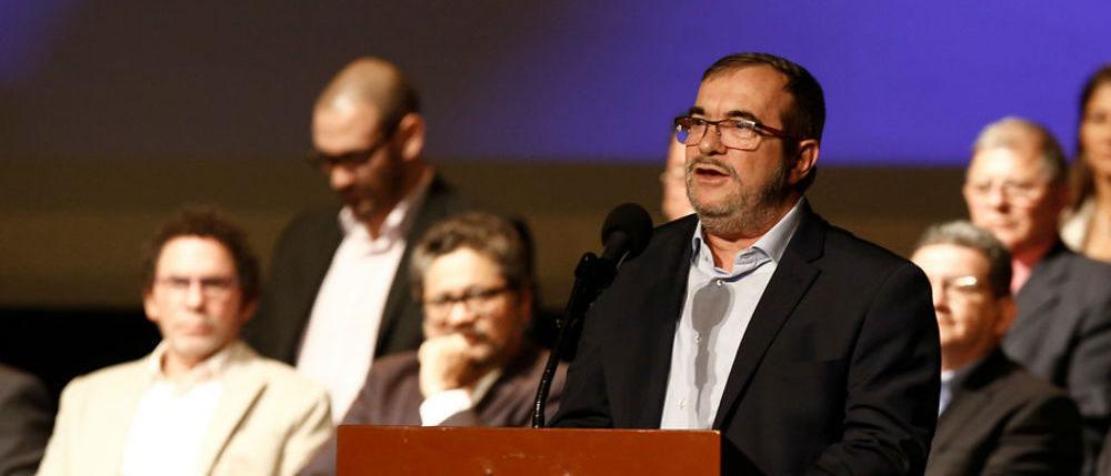 Candidato presidencial, Rodrigo Londoño.