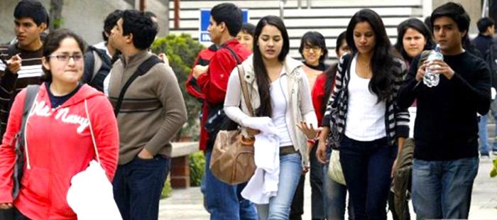 Estudiantes de educación superior
