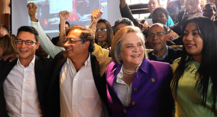"""Coalición """"Lista de la Decencia y la Esperanza"""", entre Clara López y Gustavo Petro"""