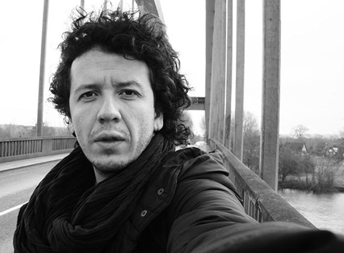 """Director del documental """"Señorita María, la falda de la montaña"""", Rubén Mendoza."""