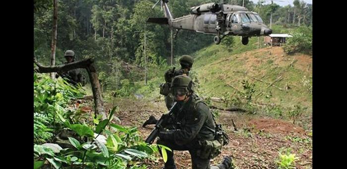 """Ofensiva contra el grupo armado organizado """"Clan del Golfo""""."""