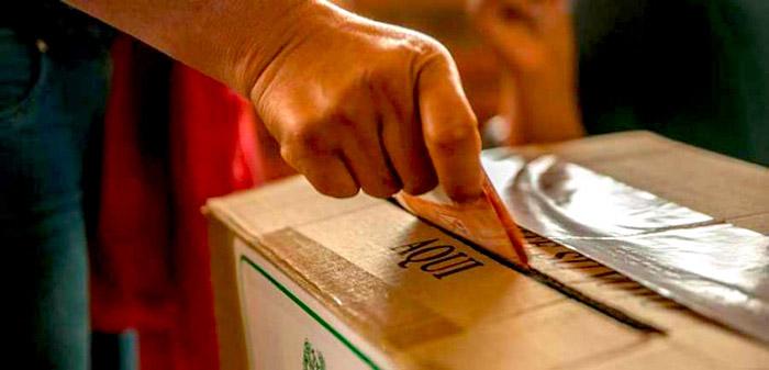Elecciones del 2018.