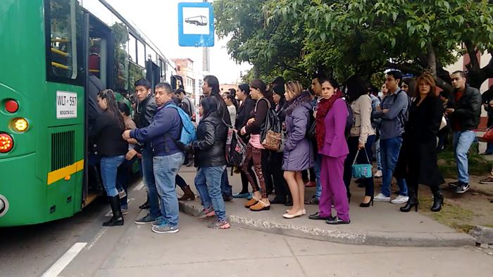 Buses del Sistema Integrado de Transporte Público