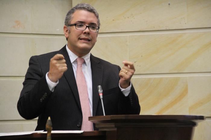 Precandidato Presidencial, Iván Duque.