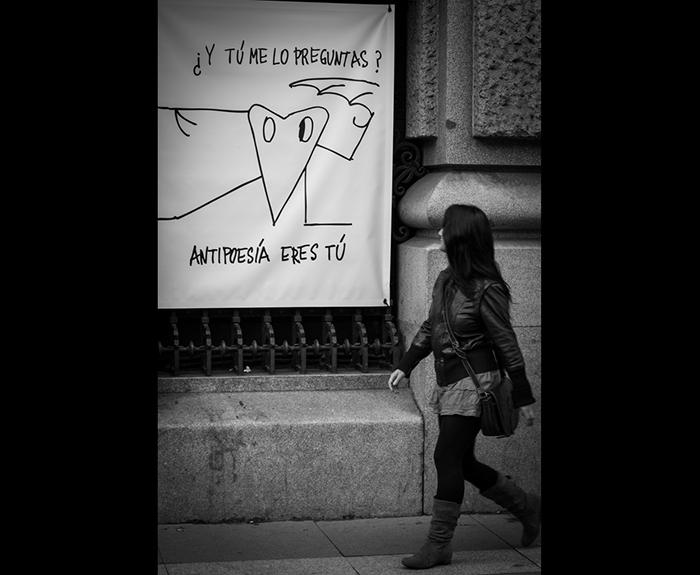Manifestaciones de antipoesía.