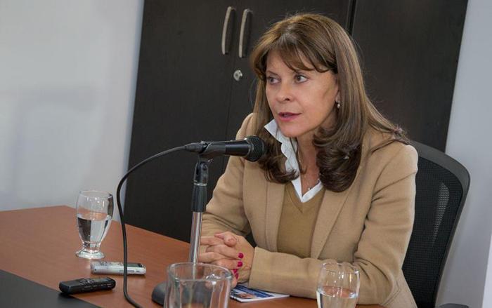 Precandidata Presidencial, Martha Lucía Ramírez.