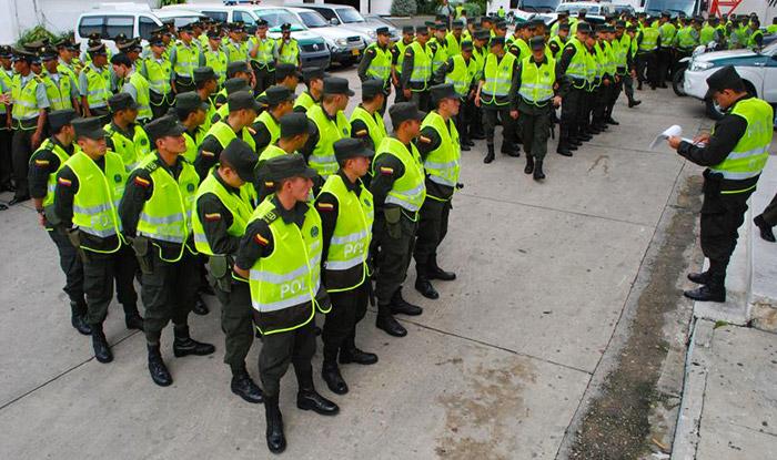 Miembros de la Policía Nacional.