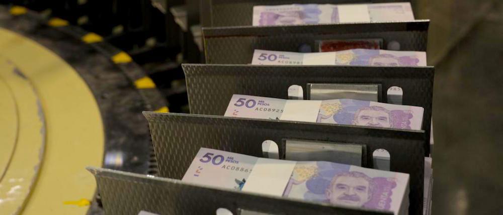 Producción de billetes