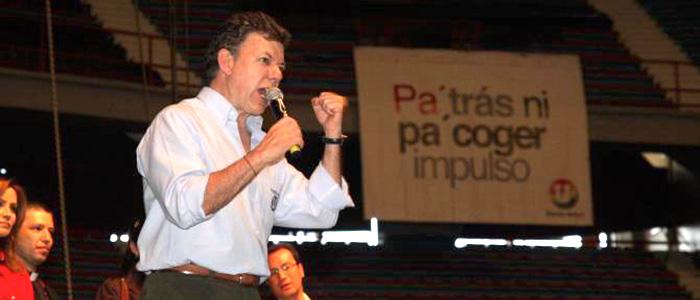 Campañas presidenciales de Juan Manuel Santos con el partido de la U.
