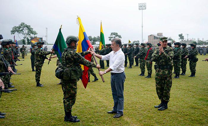 Fuerza de Tarea Conjunta Hércules en Tumaco.