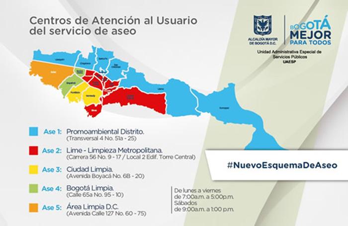 Áreas de Servicio Exclusivo (ASES).