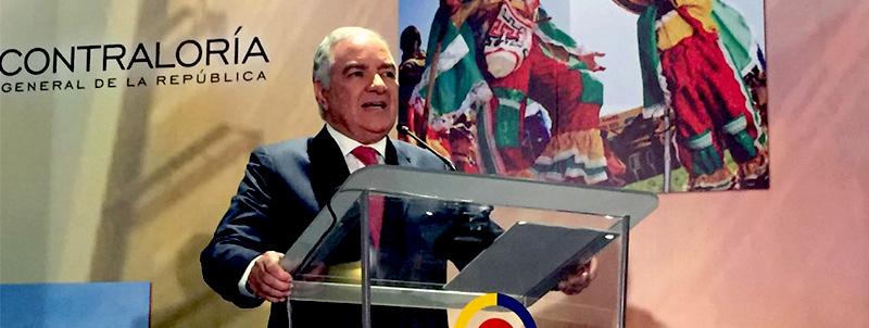 Contralor General de la República, Edgardo Maya Villazón.