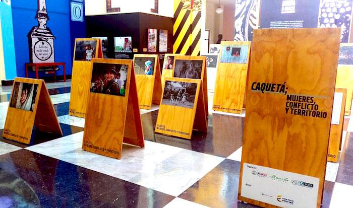 Memoria de la mujeres en el conflicto armado colombiano.