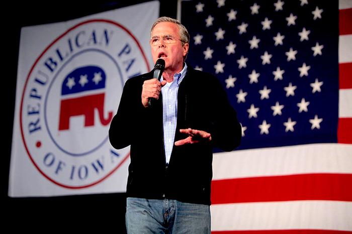 """Jeb Bush, promulgador de las leyes denominadas como """"Stand your ground""""."""