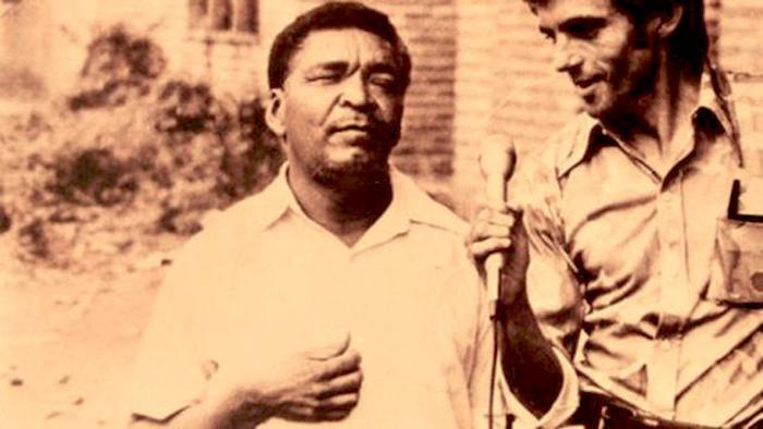 Leandro Díaz, el Homero de Padilla