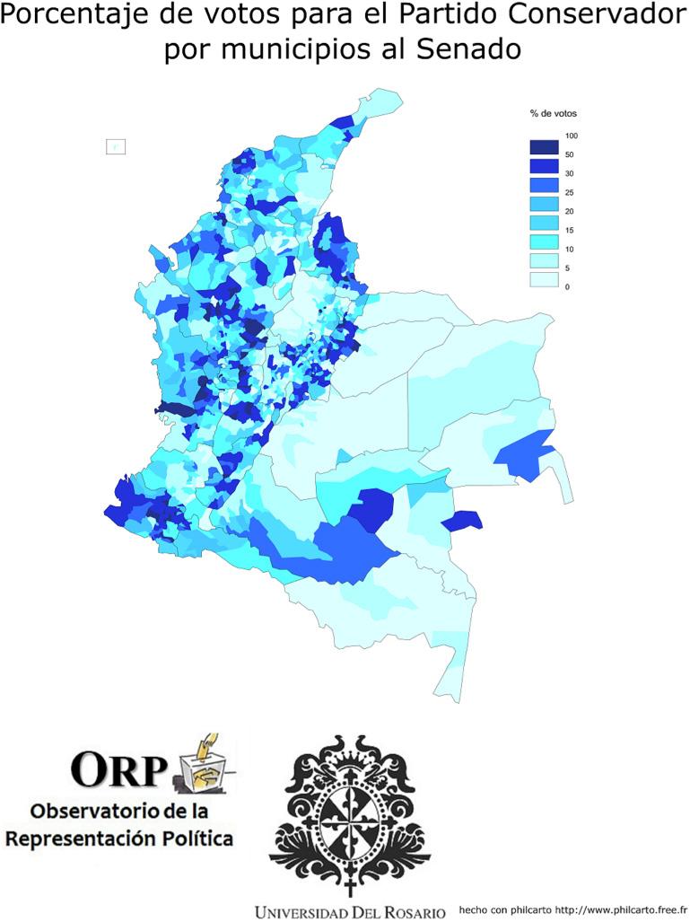 mapa votos municipios conservadores