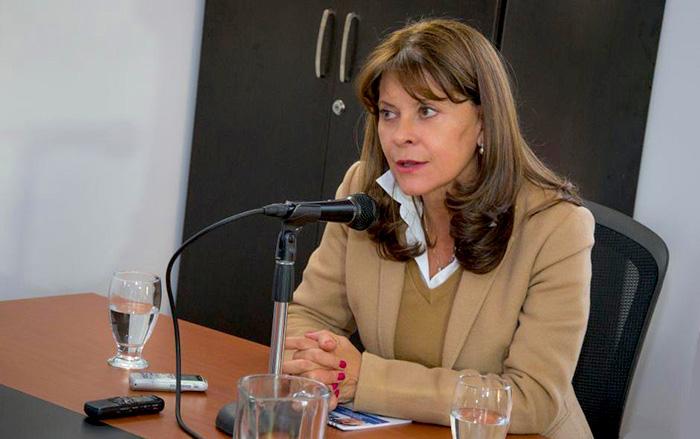 Candidata Presidencial, Martha Lucía Ramírez.