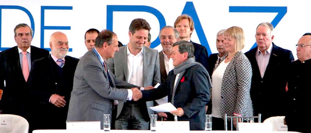 Diálogos de paz con el ELN.