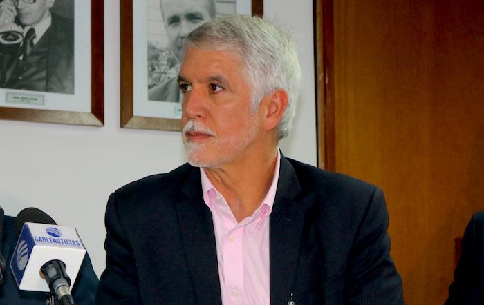 Alcalde Mayor de Bogotá, Enrique Peñalosa.