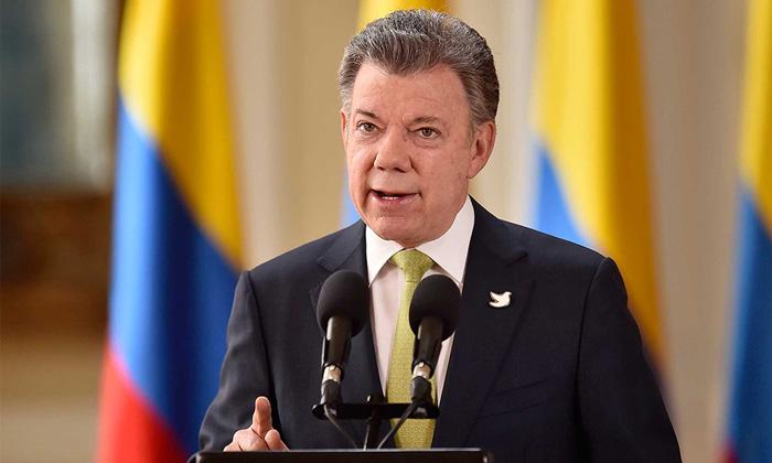 Presidente Juan Manuel Santos sobre los diálogos de paz con el ELN.