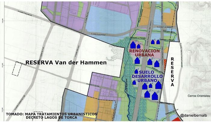 Renovación urbana en la Reserva Thomas Van der Hammen