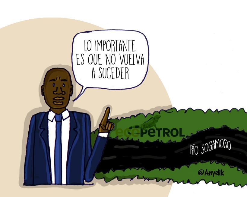 ministro Murillo: Lo importante es que no vuelva a suceder