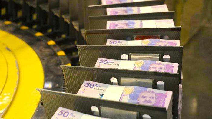 Grandes cantidades de dinero.