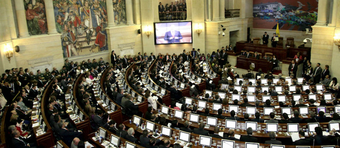 Elecciones para conformar el Congreso de la República.