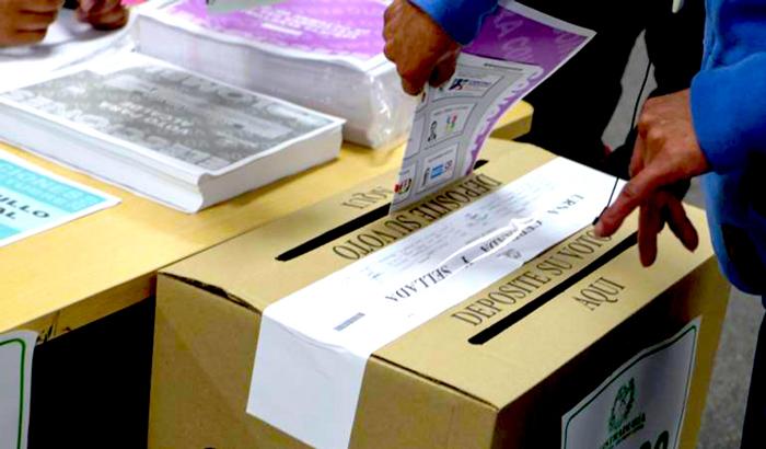 Conformación del Senado de la República a través de las elecciones del 11 de marzo.
