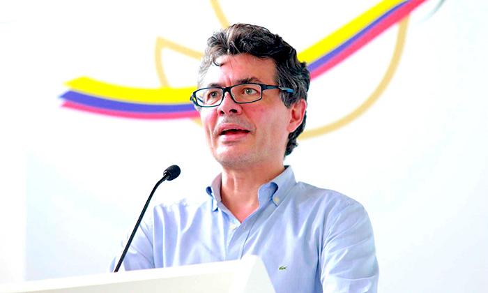 Ministro de Salud, Alejandro Gaviria