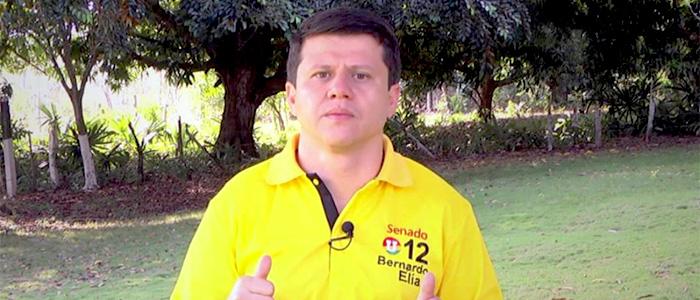 """Senador Bernardo Elías, """"Ñoño Elías"""", investigado por casos de corrupción."""