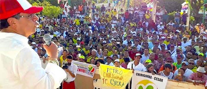 Petro sin competencia logró sacar 2,8 millones de votos ¿arranca la esperanza?