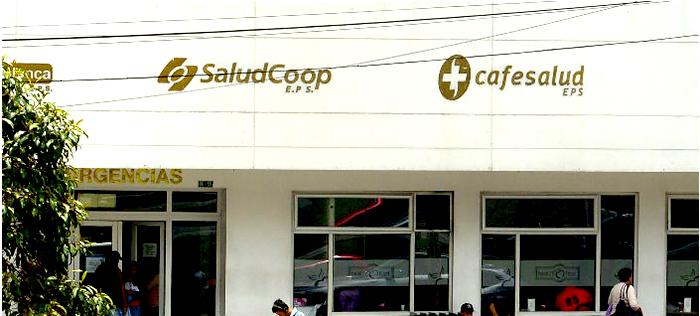 Sede de Saludcoop.