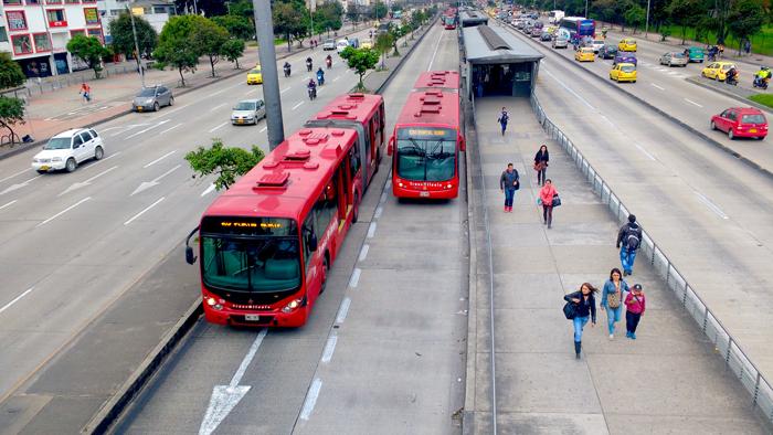 Administración de Bogotá sobre la contaminación en Transmilenio.