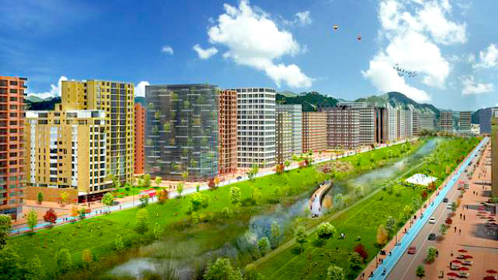 Propuesta de vivienda en Bogotá, Lagos de Torca.