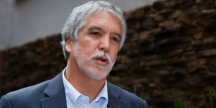 Alcalde Enrique Peñalosa.