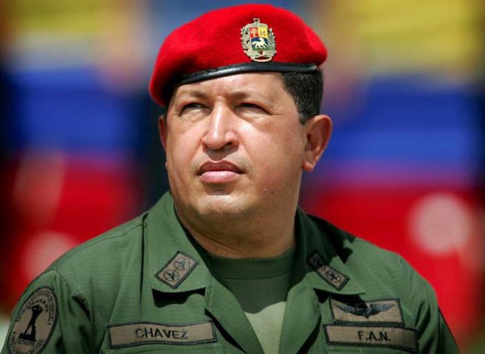 Expresidente de Venezuela, Hugo Chávez.
