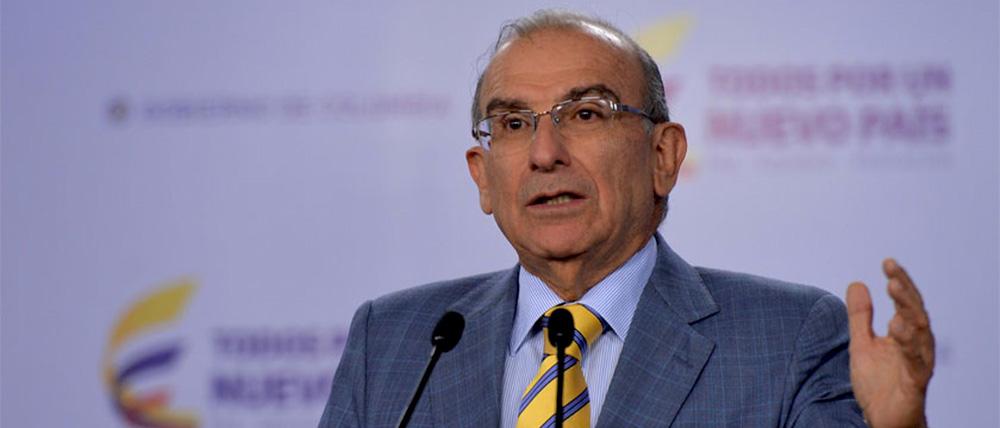 Candidato presidencial, Humberto de la Calle.