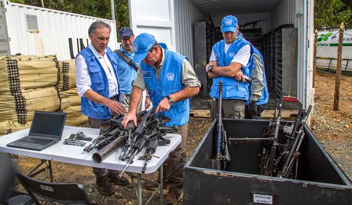 Uno de los hechos más importantes del Proceso de Paz con las FARC, la dejación de armas.