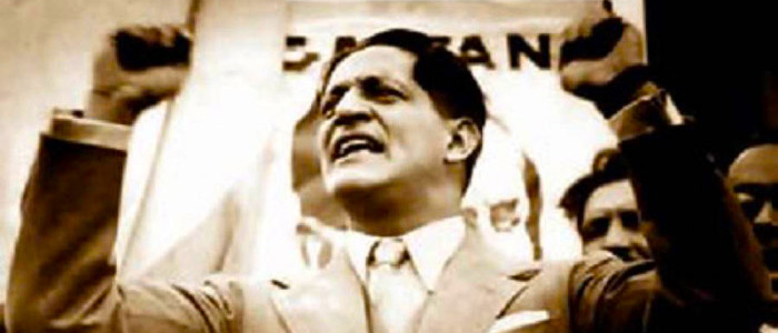Jorge Eliecer Gaitán.