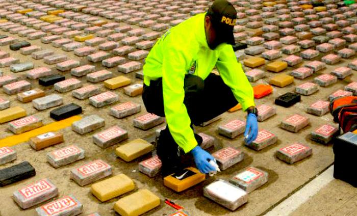 Incautación de narcotráfico en Cali