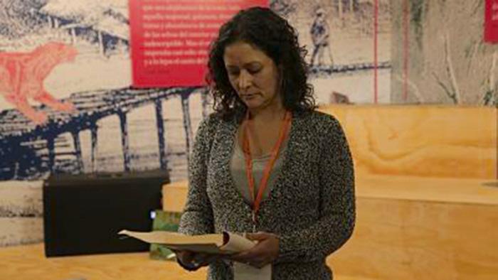 """Escritora caleña, autora de """"La perra"""", Pilar Quintana"""
