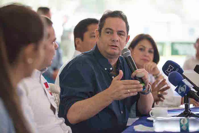 Candidato presidencial, Germán Vargas.