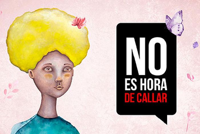 Campaña contra el acoso sexual y otras formas de violencia hacia las mujeres.