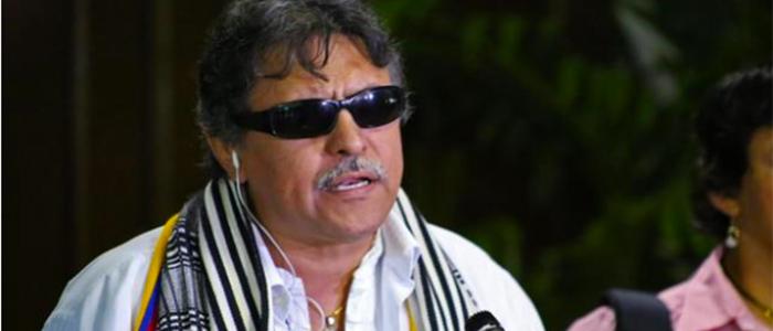 Miembro de la FARC, Jesús Santrich.