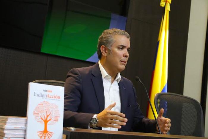 Candidato Presidencial, Iván Duque.
