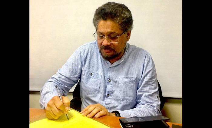 Miembro de la FARC, Iván Márquez.