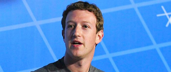 Creador de Facebook, Mark Zuckerberg.